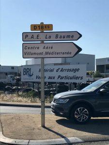 ZAE la Baume |Entreprises à la Baume (34)